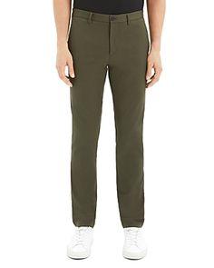 Theory Zaine Neoteric Regular Fit Pants In Kombu Green Workout Pants, Pajama Pants, Sweatpants, Mens Fashion, Fitness, Green, Clothes, Shopping, Moda Masculina