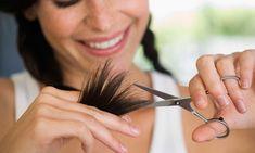 cortar as pontas do cabelo! Depende muito do seu cabelo e da sua necessidade, e cada caso é um caso! Se por exemplo você está querendo que o seu cabelo cre ...
