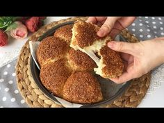 AKŞAMDAN HAZIRLA KOY DOLABA✌🏻SABAH ÇAY DEMLENENE KADAR SİMİT POĞAÇALAR HAZIR👌🏻 - YouTube Turkish Recipes, Ethnic Recipes, Queso Cheddar, Turkish Tea, Tea Time Snacks, Biscuit Cookies, Cornbread, Biscuits, French Toast
