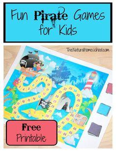Fun Pirate Games for Kids
