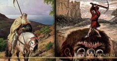 Tom Hickathrift - the Crusader who became Jack the #Giant Killer