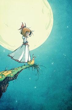 Beautiful image. //Ozma of Oz 8 by *skottieyoung on deviantART