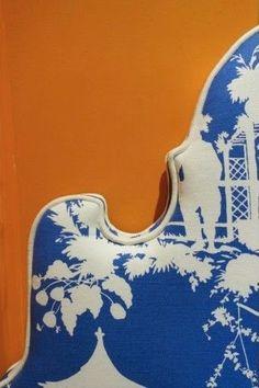 Orange and Blue | Chinoiserie Chic | Bloglovin'