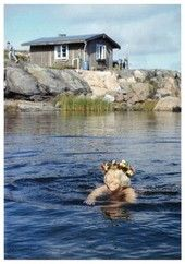 Summer in Klovharu island, Finland. Tove Jansson is the author of the Mumin troll books and Klovharun was her summer cottage on an island in the Finnish archipelago. Tove Jansson, Moomin Books, Helsinki, Moomin Valley, All Nature, Fauna, Photo Postcards, Archipelago, Scandinavian