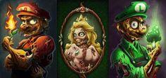 #zombie #Mario