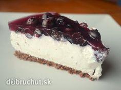 Fotorecept: Čučoriedkový cheesecake