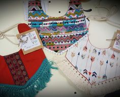 Baby Boho bibs!! Check them out @rusticromance.ozarkmo by three_little_arrows