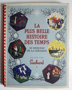 French Suchard Chocolate Album Collectible by LaBelleEpoqueDeco