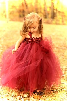 Couture Dreams- Beautiful in Burgandy Tutu Dress- SZ MO Robes Tutu, Red Wedding, Wedding 2015, Fall Wedding, Beautiful Children, Kind Mode, Little Princess, Princess Style, Marie