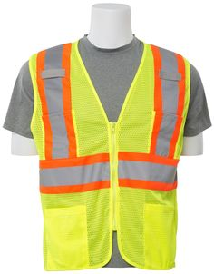 Workplace Safety Supplies Safety Clothing Objective Black Safety Vest High Visibility Breathable Mesh Pvc Tape Outdoor Clothes With Traditional Methods