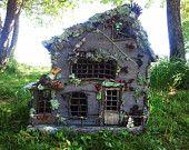 Lighted Fairy House