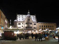 Marktplatz in the city of Schweinfurt, Germany! How I miss thee, USAG SWF!