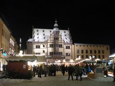 Marktplatz in the city of Schweinfurt, Germany! How I miss thee, USAG SWF!