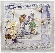 LOTV - Fairy on Top with Snow Princess papers by DT Becky