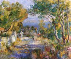 Renoir- El estanque