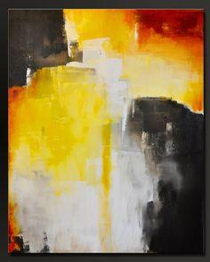 Triunfo arte de pared de 30 x 24 abstracto acrílico