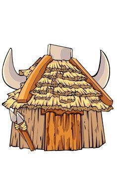 Goblins hut https://play.google.com/store/apps/details?id=com.db.howtodrawclashroyale&hl=en
