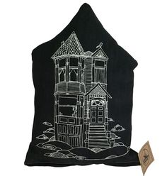 """These+little+victorian+pillows+make+nice+decor+in+any+stylish+home.+  #AnimalInstincts  The+design+is+hand+drawn+and+pillow+made+in+San+Francisco!  Pillow+size+is+about+8""""+wide+by+13""""+tall+but+all+a+little+different+since+there+not+made+in+big+factory:)"""