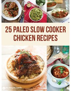 25 Paleo Crock Pot Chicken Recipes