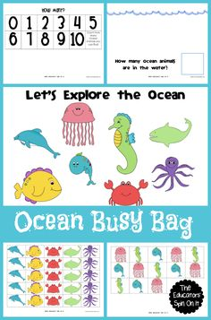 It's time for Busy Bag of the Month!   This month we're exploring the theme of ocean! We've been spending a lot of time at the beach this summer and were looking for ways to have fun at home to keep those memories in our minds.  I've created a fun little Ocean Animal Game to …