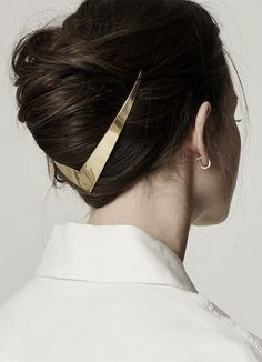 Gold-Haar-Accessoires sind jetzt im Trend Trend Frisuren Stil Gold hair accessories are now in trend trend hairstyles style Hair Dos, My Hair, Hair Ponytail, Headband Hair, Headbands, Natural Hair Styles, Long Hair Styles, Hair Jewelry, Gold Jewelry