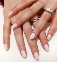 7 Wedding Manicures For Every Type Of Bride Wedding Nails For Bride Natural, Wedding Day Nails, Wedding Nail Polish, Wedding Makeup Tips, Wedding Manicure, Wedding Ideas, Bride Makeup, Wedding Bride, Wedding Shoes