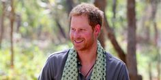 Prince Harry Practices His Tiger Impression in Nepal