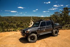 The Toyota Land Cruiser at Mundaring power line track. Toyota Lc, Toyota Trucks, Toyota Cars, 4x4 Trucks, Chevrolet Trucks, Diesel Trucks, 1957 Chevrolet, Toyota Hilux, Chevrolet Impala