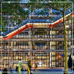 Hvac Design, Pompidou Paris, Centre Commercial, Centre Pompidou, Florence Tuscany, Renzo Piano, Commercial Architecture, Paris City, Continents