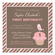Primera Del Cumpleaños Invitaciones, Primera Del Cumpleaños anuncios, Primera Del Cumpleaños convites