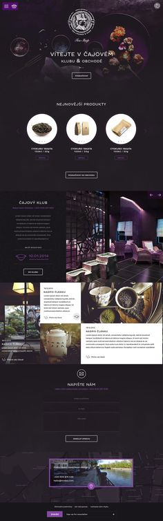 Mr.Dao Tea Lounge & Shop. Most exotic tea web design. #webdesign #design #tea. If you're a user experience professional, listen to The UX Blog Podcast on iTunes.