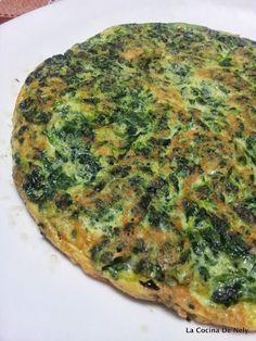 la cocina de nely: TORTILLA DE ESPINACAS