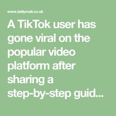 A TikTok user has gone viral on the popular video platform after sharing a step-by-step guide on how to thoroughly clean the bathroom like a professional. Cleaning Checklist Printable, Has Gone, Popular Videos, Step Guide, Platform, Bathroom, Washroom, Full Bath, Heel