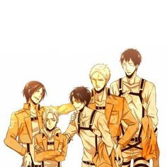The titans - trainess squad 104th