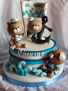 Teddy Bear Sailing Cake | by La Torta che Vuoi Tu