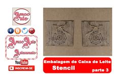 Embalagem de caixa de leite 3 http://amocarte.blogspot.com.br/