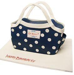 Spot navy day bag - classic style, classic cake. #cathkidston #cake #CK20yrs
