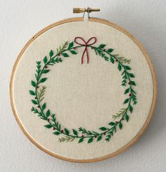 Hand embroidery - Christmas!
