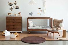 børneværelse, nusery, babyværelse, kids room, decor, home, indretning, bolig, boligcious, malene møller hansen, interiør, interior, møbler, furnitures, wood, nature