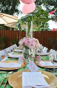 A Palm Beach Chic Baby Shower, by Luxe Report Designs - The Glam Pad