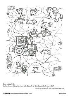 ausmalbilder mandalas mit tiere   thema bauernhof, kindergeburtstag bauernhof, bauernhof