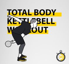 Visual Workouts For Everyone Full Body Kettlebell Workout, Kettlebell Abs, Hitt Workout, Kettlebell Training, Strength Workout, Fitness Exercises, Fast Workouts, Lower Ab Workouts, Buddy Workouts