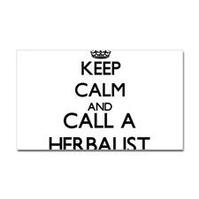 Keep calm and call a Herbalist Decal