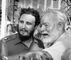 """Fidel Castro & Ernest Hemingway, Fishing Contest, Cuban Fishing, There is much mythology around Ernest Hemingway, Fidel Castro and fishing in Cuba. """"""""… Castro a…"""