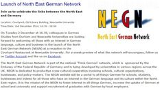 Launch of North East German Network Newcastle University, Old Libraries, German, Product Launch, Deutsch, German Language