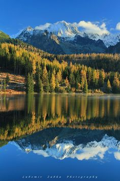 Strbske pleso, High Tatras, Slovakia. Štrbské Pleso with its large glacial mountain lake is a favorite ski, tourist, and health resort in the High Tatras, Slovakia. (V)