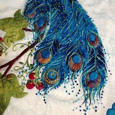Sharon Schamber - applique and embroidery