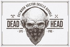 Dead Head | Skulls Bundle by Vecster on Creative Market