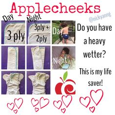 Heavy wetting solutions with Applecheeks