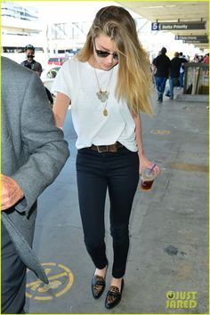 Full Sized Photo of amber heard lax without johnny depp 11 | photofull | Just Jared